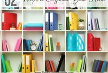 Organization Tips & Tricks / Tips and tricks on organization, how to declutter and get your house and life in order!