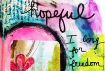 Journal Art / by Cynde Tagg