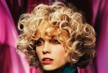 Curly Girl Styles / Curly hair styles for salon inspiration
