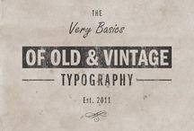 typography stamp inspiration / by Karin Joan