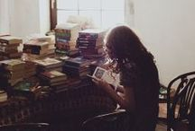 bookworm / i could probably live in a library. / by kylie cooper