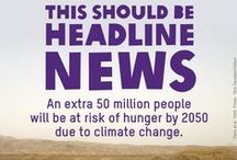 Climate & Health / 97% of climate scientists are convinced, based upon the evidence, that human caused global warming is happening. This means increased water scarcity, heat deaths, mold allergies, asthma attacks, mosquito vectors, cholera, malaria, dengue, lyme and other 'exotic' infectious diseases in humans and animals.  Increase in toxic algal blooms. Increased mass drought, wildfires, degradation of soil quality, violence rates, land & water wars, poverty, malnourishment, and severe hunger. #ActOnClimate / by Nurture Nature Project