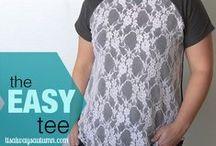 T-Shirt & T-shirt Yarn Ideas