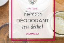 Cosmétiques zéro déchet / Mes recettes préférées et DIY pour fabriquer vos propres cosmétiques zéro déchet.