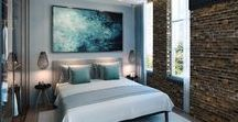 Dream Bedroom Inspiration / Dreamy bedrooms, lush furnishings, a place to relax and find your zen.