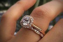 Rose Gold Engagement Rings / Beautiful, feminine, and unique, rose gold engagement rings are taking the wedding world by storm!