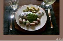 recettes de poissons & crustacés