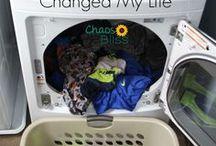 Laundry Tips & Tricks / Laundry hacks, ways to spend less time doing laundry, eco-friendly laundry tips.