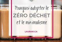Zéro Déchet Lifestyle / Curieux de découvrir le mode de vie Zéro Déchet? Prêt à adopter de nouvelles habitudes? Découvrez des conseils simples Zéro Déchet.