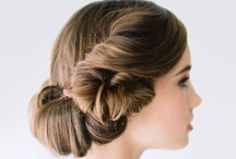 hair / {for the wedding}