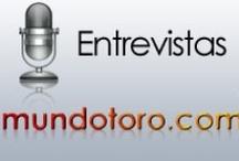 Entrevistas y  Declaraciones / Algunas de las entrevistas más modernas de Mundotoro.com