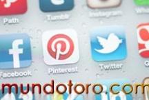Redes sociales / Todo el contenido relacionado con las redes sociales. Mundotoro.com