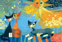 Rosina Wachtmeister / nog meer inspiratie voor mozaiek