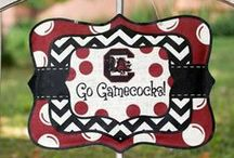 Carolina Gamecock Pride / Celebrating all the Carolina Gamecock fans with fashion, tailgating and decor! Go Gamecocks! / by Julie @ Southern Charm Wreaths