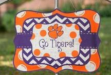 Clemson Tiger Nation / Celebrating all the Clemson Tiger Fans with fashion, tailgating and decor! / by Southern Charm Wreaths
