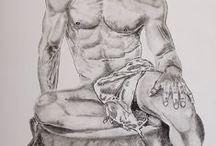 My Drawings / Charcoal drawings