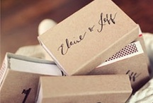 favors / {for the guests}