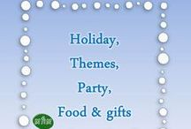 MHM Holiday, themes party, food, gifts / Ideas & Inspirations for Holiday, class party, food, gifts / by Miss Hey Miss
