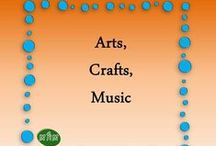 MHM Art, Crafts, Music  / Ideas & Inspiration for Art, Crafts, Music  / by Miss Hey Miss