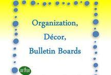MHM Organization, Décor / Bulletin Board  / Ideas & Inspiration for Classroom Décor & Bulletin Board Ideas / by Miss Hey Miss