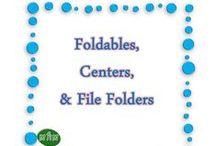 MHM Foldables, Centers, File folders / Ideas & Inspiration for Foldables, Centers, File folders,  / by Miss Hey Miss