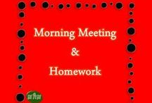 MHM Morning Meeting & Homework / Ideas & inspiration for morning meeting (circle time) including ideas for weather and calendar.  / by Miss Hey Miss