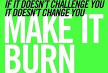 Sweat / Workout inspiration