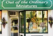 Out of the Ordinary Miniatures / Yes, we are a full line  Canadian miniature shop!  We are locatedt at 641 King St., E., in Cambridge, On, just two minutes from Highway 401   Here are just a few pictures to show what we are worth making the trip!