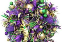 Mardi Gras Decor / DIY Mardi Gras Decorations, Mardi Gras Party Decor, Mardi Gras Food, etc. You name it, if it has to do with Carnival Season, I'm pinning it!