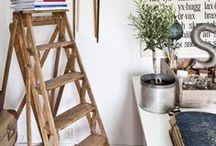 Escaleras de madera / En cualquier rincón de la casa