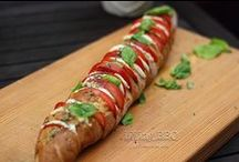 Vegetarische Rezept vom Grill / Es muss nicht immer Fleisch sein. Auch vegetarische kann sehr gut gegrillt werden.