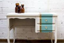 Muebles pintados - Shabby Chic / Envejecido y Decapado.  Rústico, Provenzal y Romántico...