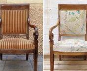 Antes y después - Studio Alis / Nuestro trabajo - Restauración, renovación, tapicería