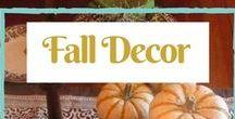 fall decor / Fall decor ideas