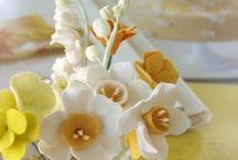 Natural Yellow / クレイなら色もサイズも自由に表現できます  ~デザインを形にする~ WeddingFactory  クレイを中心としたウェディングアイテム製作  WeddingFactory http://www.weddingpartyfactory.com/  オンラインショップ  Clay Art Wedding  http://clayartwedding.net/