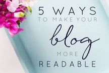 Improve Your Blogging Game / Step up your blogging game with helpful tips about writing, photography, social media, SEO and all things blog-related.