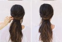 Hair & Beauty Tutorials / Makeup and Hair tutorials that everyone can try at home. Well, they look easy in the photos........