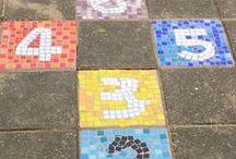 Schoolplein ideeën / inspiratie voor buitenpleinen basisschool
