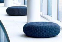 Paola Lenti indoor & outdoor design furniture - CLASSICDESIGN.IT / Paola Lenti's Pouf, sofas, beds for outdoor e indoor, design by Patricia  Urquiola, ElianaGerotto, FrancescoRota