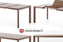 Extensible Design Tables / Extensible Design Tables produced by Miniforms, Porro, Molteni&C, Zanotta, Tecta, Frighetto design by Erich Brende, Sebastian Bergne, Michele Cazzaniga, Andrea Lucatello www.classicdesign.it