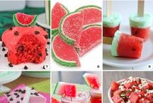 Watermelon / This board is for watermelon lovers; watermelon decor, watermelon recipes, watermelon wreaths, etc.