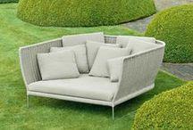 Design garden furniture - Outdoor design furniture / Design garden & patio furniture (tables, chairs, sofas) by Driade, Zanotta, Roda, Paola Lenti, BDBarcelona, Tecta WWW.CLASSICDESIGN.IT