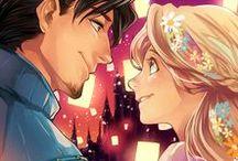 Art: Disney Cartoons Anime TV Shows