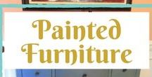 painted furniture / fabulous painted furniture projects reveal, from drab to fab