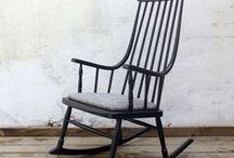 Muebles pintados en Negro