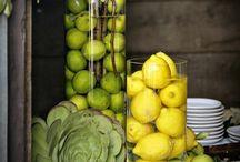 Lemon - Lime / I love lemons and the color yellow! / by Sharon Cole