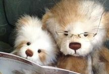 Antique bears and collectable friends / Collectable bears and other handmade friends / by Mary Costello