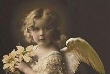 Angels, Fairies & Butterfly wings  / Precious Angles, fairies and butterfly Wings... / by Mary Costello