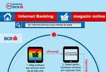 Infographics / Infografice realizate pentru Comunicarea Externa a BCR.