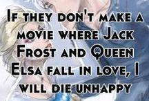 Jelsa-Jack Frost & Elsa